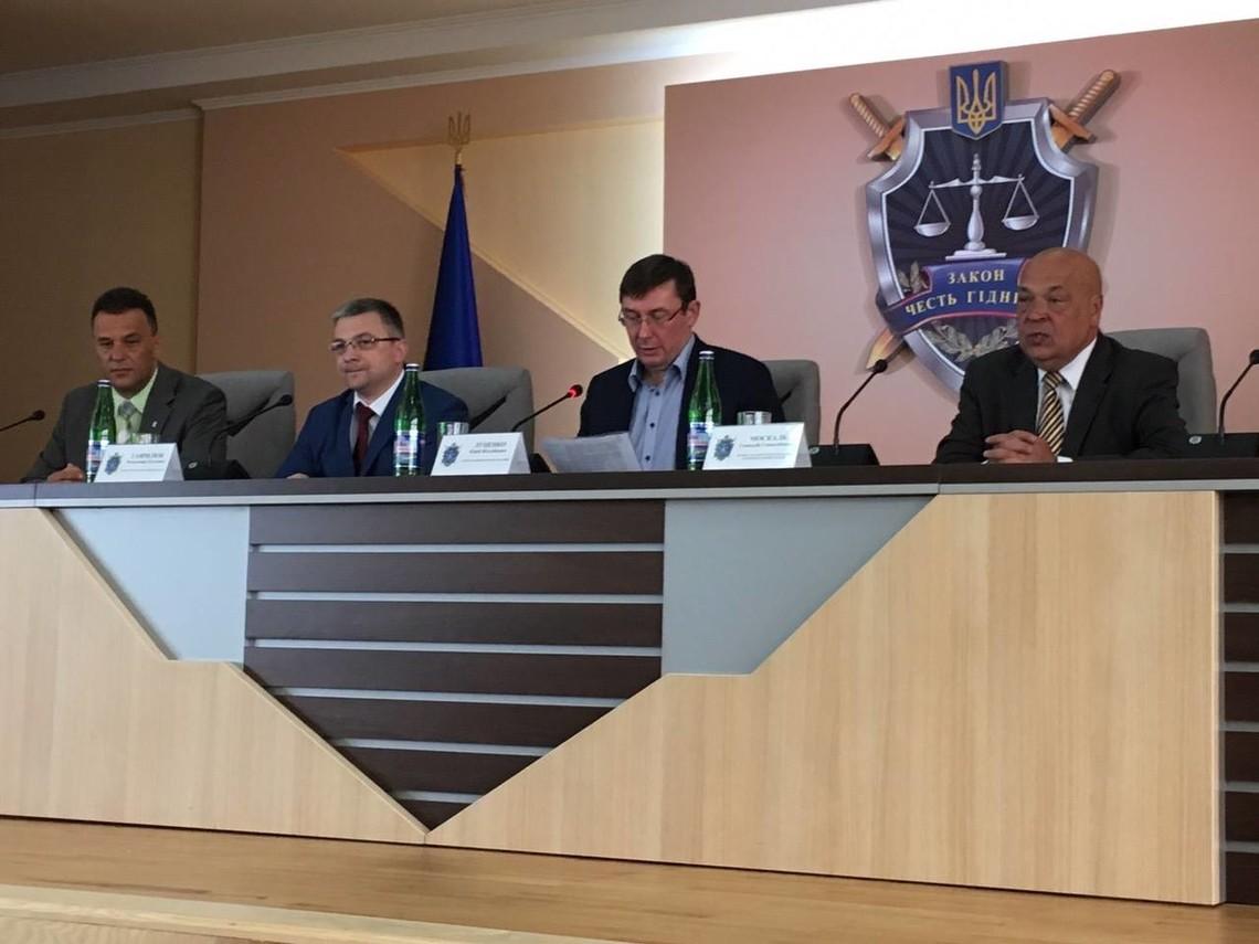 Закарпатська область отримала нового прокурора. Ним став колишній прокурор Ужгорода Володимир Гаврилюк.