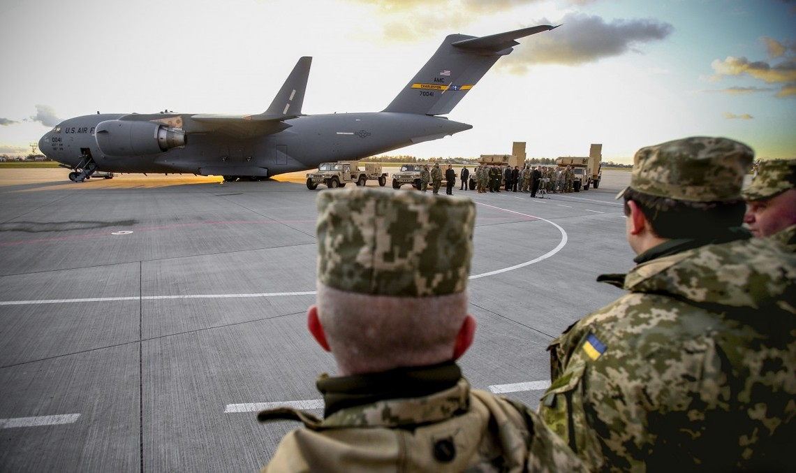 За два з половиною роки США направили в Україну військове обладнання на суму, що перевищує 117,5 млн доларів.