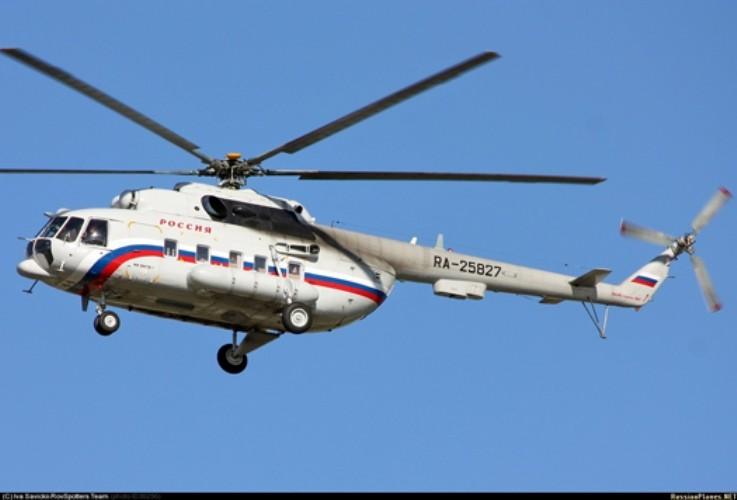 У Держприкордонслужбі України заявили, що на адміністративній межі над тимчасово окупованою територією АР Крим зафіксовано проліт російського вертольоту Мі-8.