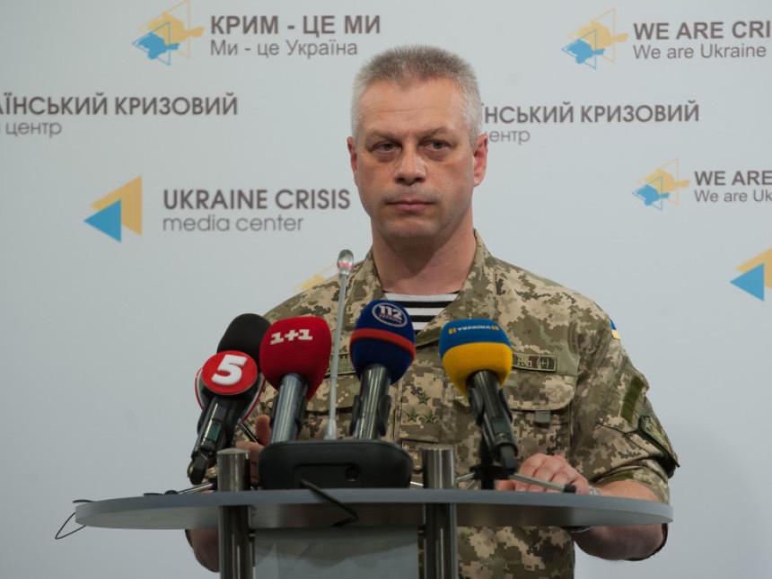 За словами спікера Адміністрації Президента з питань АТО Андрія Лисенка, на Донбасі загинули троє українських військових.