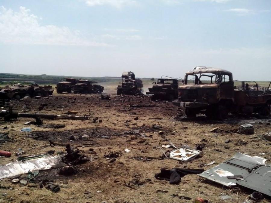 Всі втрати за минулу добу українські війська зазнали на Маріупольському напрямку, повідомили в прес-службі АП.