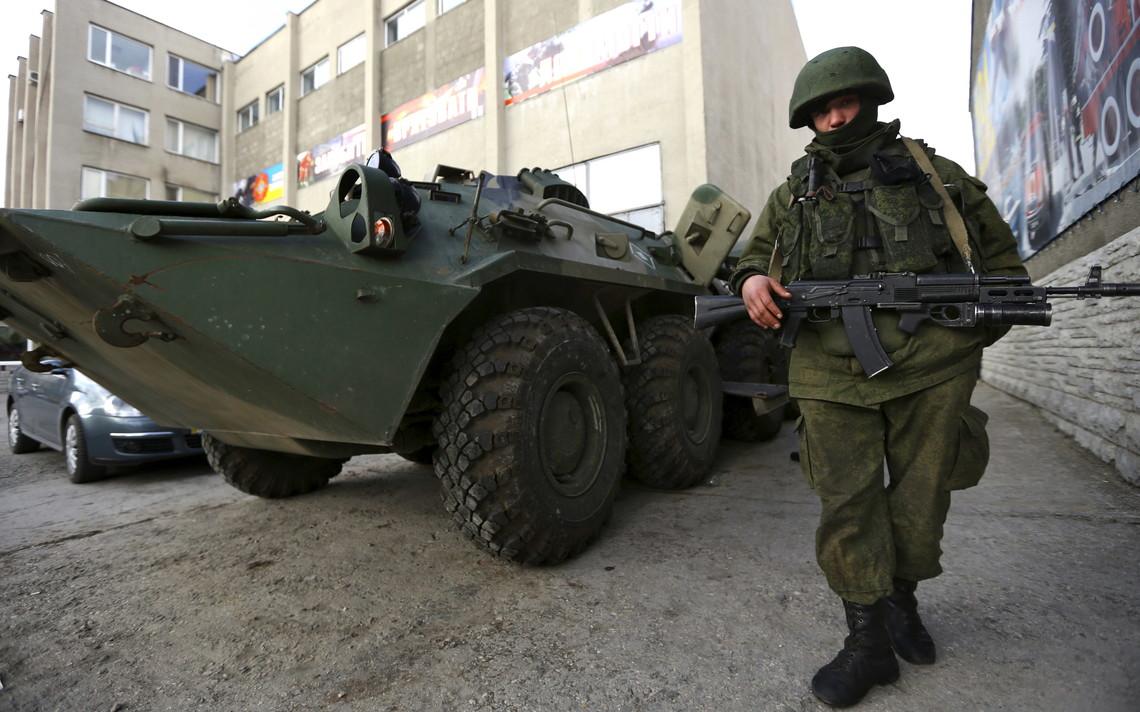 Російське ФСБ вважає, що виявили групу українських диверсантів в ніч на 7 серпня в районі міста Армянська в Криму.