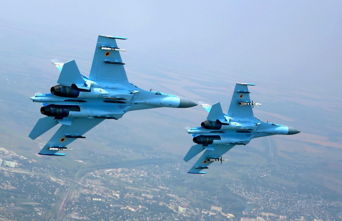 Повітряні сили ЗСУ розпочали військові навчання Небесний щит-2016, на яких відпрацьовуватимуть повітряні удари.