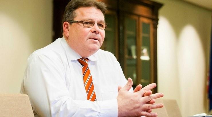 Міністр закордонних справ Литви Лінас Лінкявичус назвав заяви Росії по Криму старими методами КДБ.