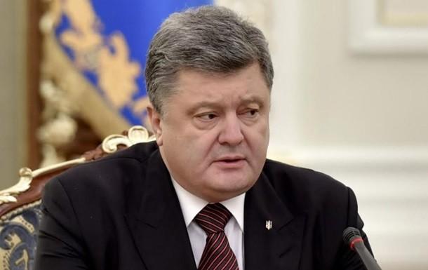 Президент України Петро Порошенко назвав заяву Володимира Путіна про так званих українських диверсантів в Криму цинічною та безглуздою.