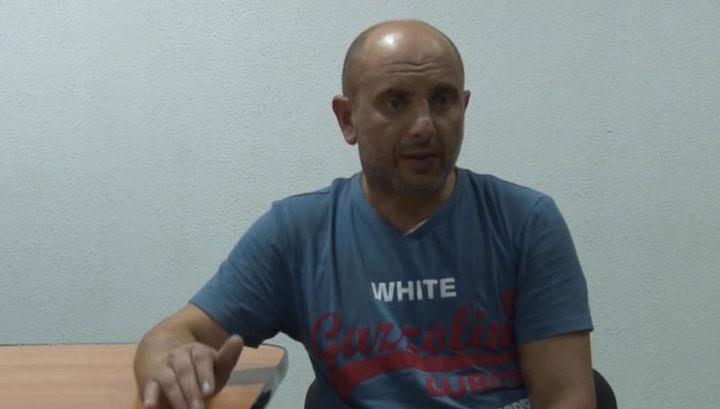 Суд обрав запобіжний захід у вигляді утримання під вартою строком на 1 місяць і 26 днів Андрію Ззахтею, якого підозрюють в нібито підготовці диверсій в Криму.