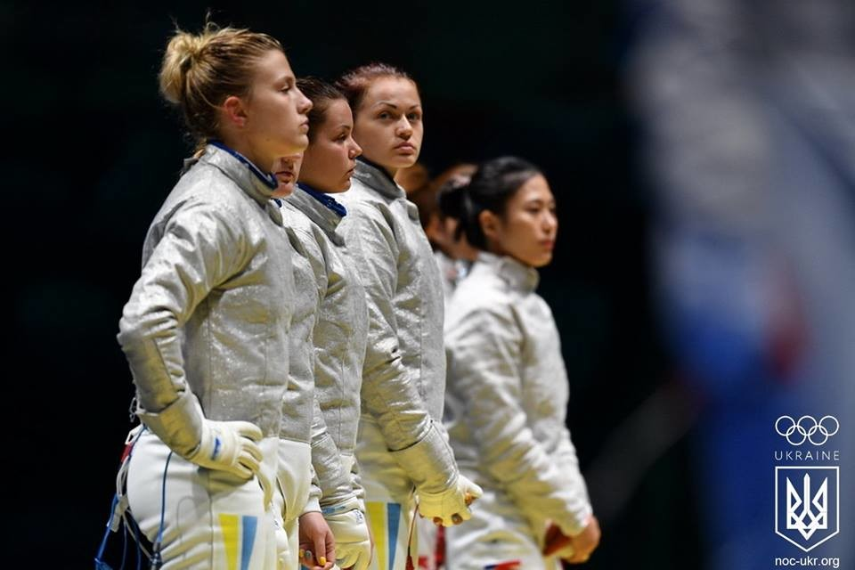 Збірна України з фехтування на шаблях серед жінок гарантувала собі медаль на Олімпійських іграх у Ріо-де-Жанейро.