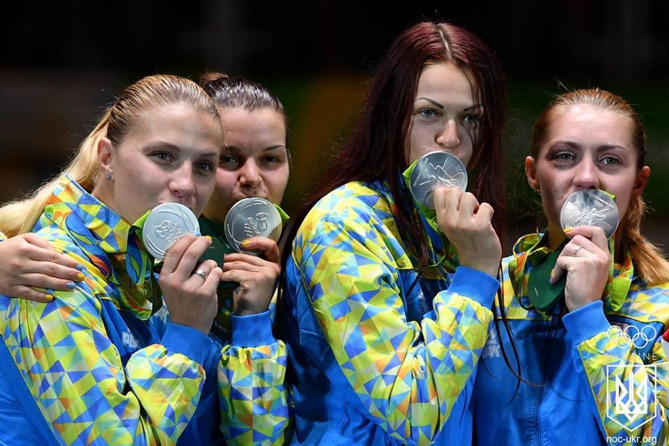 Жіноча збірна України з фехтування у фіналі Олімпійських ігор не змогла переграти суперниць із Росії і здобули срібну нагороду.