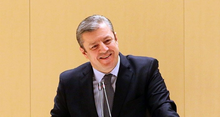 У передвиборчому кліпі партія Центристи обіцяла російську пенсію, розміщення російських баз у Грузії, скасування візового режиму з РФ та ухвалення закону про подвійне громадянство.