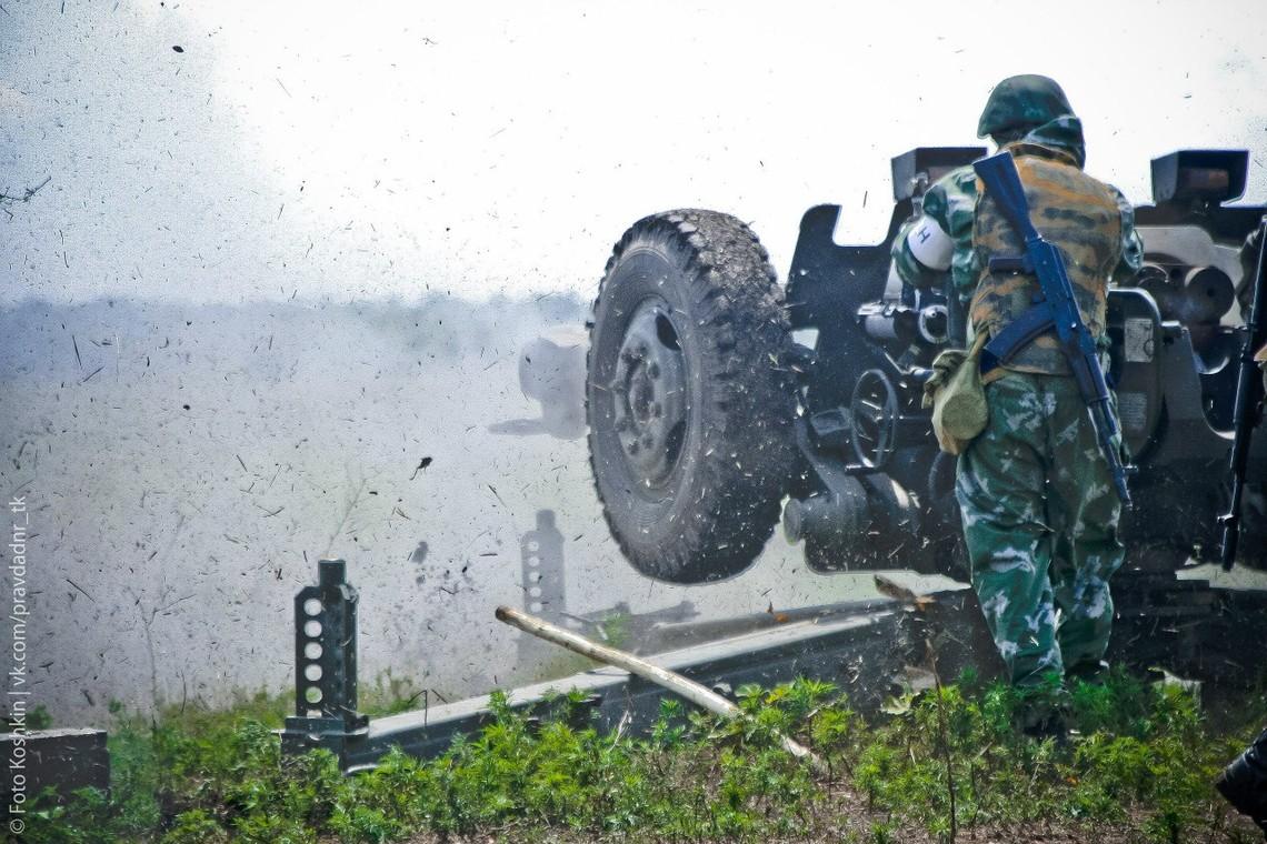 Члени незаконних збройних формувань продовжують грубо порушувати Мінські домовленості, застосовуючи важке озброєння.