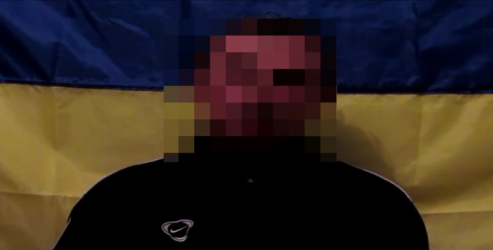 У Службі безпеки України оприлюднили відеозапис затримання члена незаконного збройного формування Восток.
