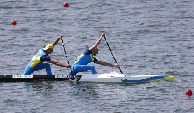 Український дует у складі Дмитра Янчука і Тараса Мищука завоював бронзу Олімпійських ігор-2016 у веслуванні на каное-двійках на дистанції 1000 м.