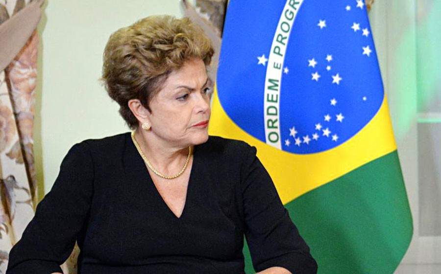 Тимчасово відсторонена від посади президента Бразилії Ділма Русеф заявила, що не піде у відставку добровільно. Процес її імпічменту вступає сьогодні у фінальну стадію.