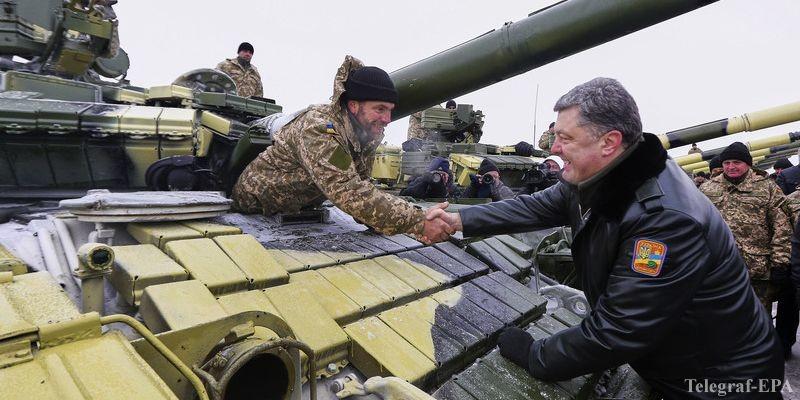 Президент Петро Порошенко розповів, що техніка з військового параду в Києві повернулась на місця постійної дислокації. Про це йому доповів міністр оборони Степан Полторак.