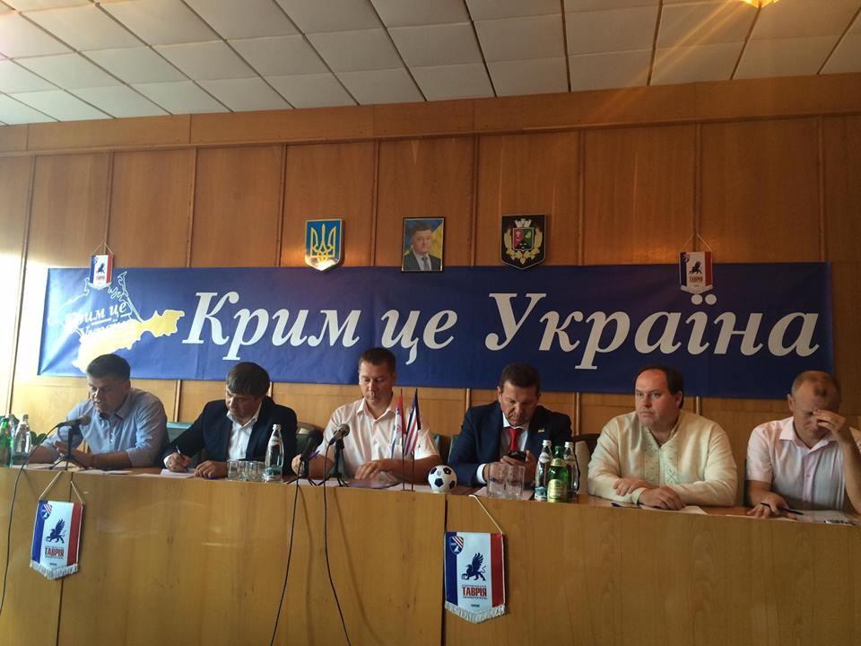 У Бериславі є вся необхідна для клуба інфраструктура, Таврія почне матчі на аматорському рівні.