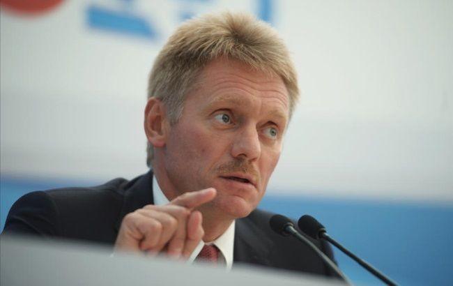 Прес-секретар російського президента в черговий раз зняв відповідальність з РФ у конфлікті на сході України.