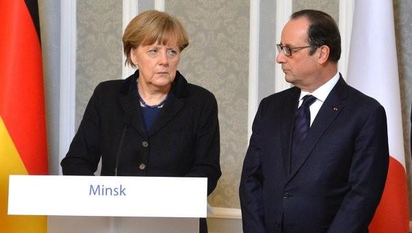 Німеччина й Франція вважають встановлення режиму тиші на Донбасі прологом до припинення вогню на довгострокову перспективу.