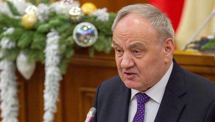 Президент Молдови закликав змінити конституцію, перейменувавши молдавську мову в румунський.