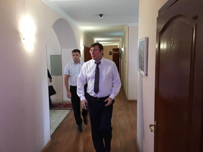 У Генеральній прокуратурі похвалилися затриманням заступника прокурора одеської прокуратури Валерія Білого.