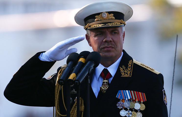 Прокуратура Украины вызвала всуд командующегоЧФ Российской Федерации