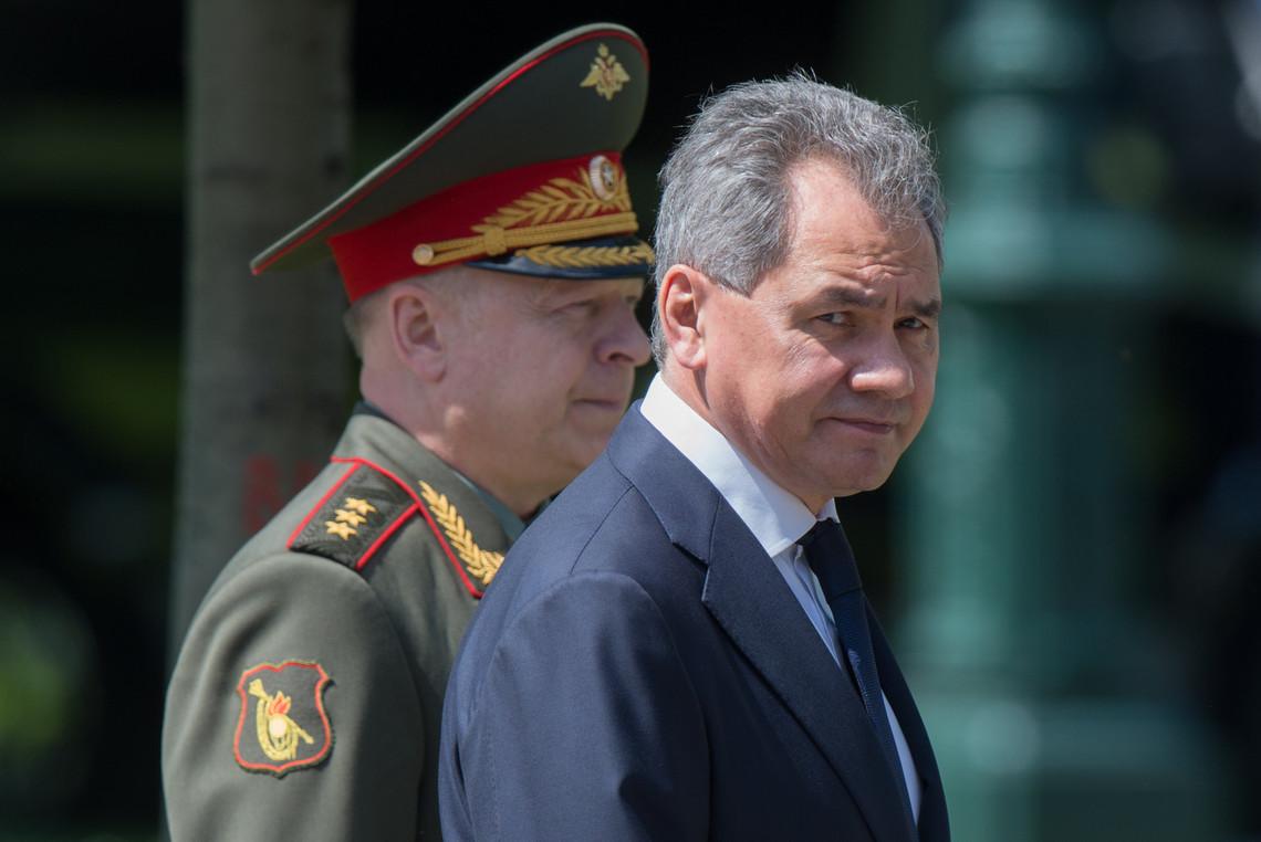 Керівник російського оборонного відомства Сергій Шойгу прибув до Криму на заключний етап військових навчань.