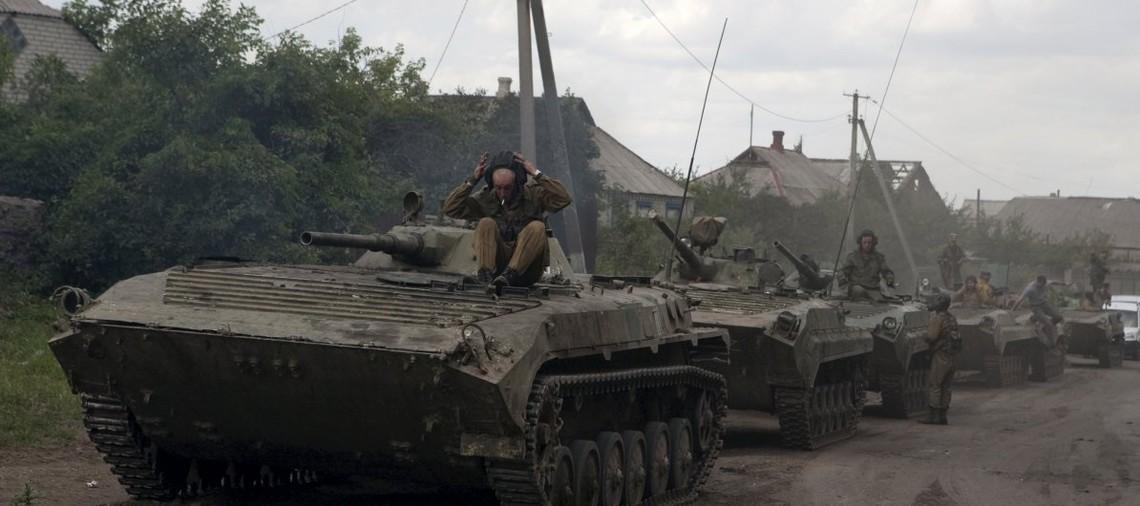 Російська Федерація продовжує порушувати Мінські домовленості, доставляю проросійських бойовиків важку техніку.