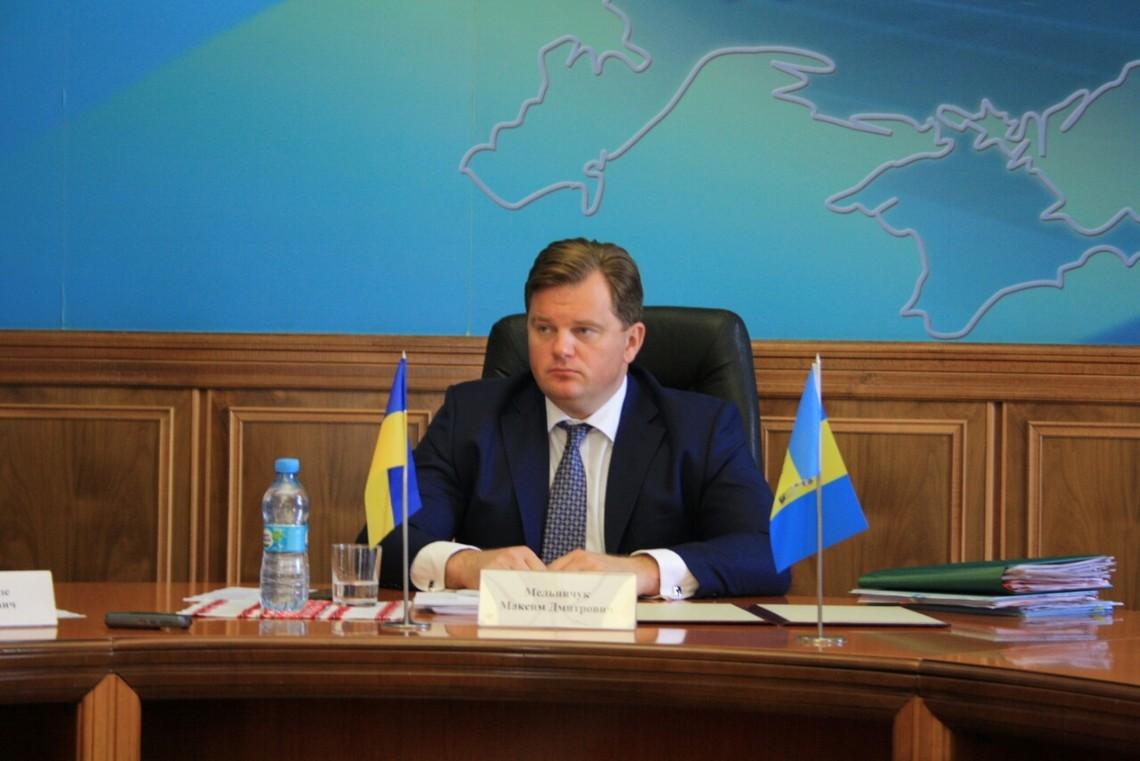У Генеральній прокуратурі України розповіли про місцеперебування колишнього голови Київської ОДА Максима Мельничука.