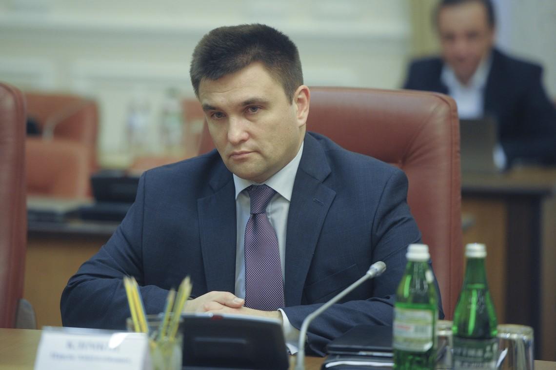 Клімкін вважає, що для виконання мінських домовленостей потрібен один документ з чіткою послідовністю виконання пунктів угод і гарантіями Росії їх виконання.