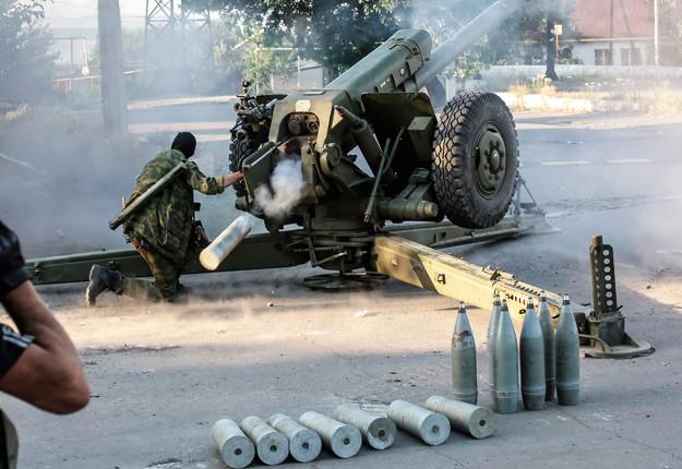 Члени незаконних збройних формувань продовжують грубо порушувати Мінські домовленості, застосовуючи заборонене озброєння.