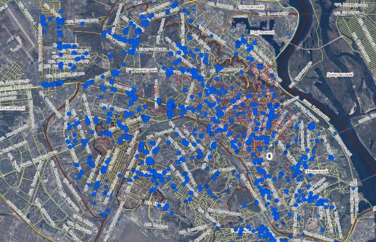 Таким чином київська міська влада прагне вирішити питання про незаконні забудови в столиці.