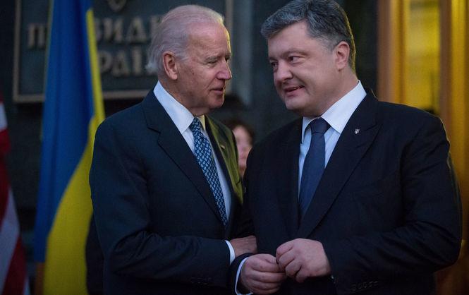 Під час 71-ї сесії Генеральної асамблеї ООН Президент України Петро Порошенко провів зустріч із віце-президентом Сполучених Штатів Америки Джозефом Байденом.