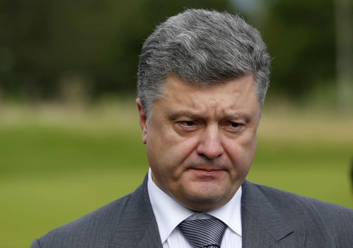 Президент Петро Порошенко повідомив, що Україна хоче вирішити ситуацію на Донбасі політичними і дипломатичними засобами.