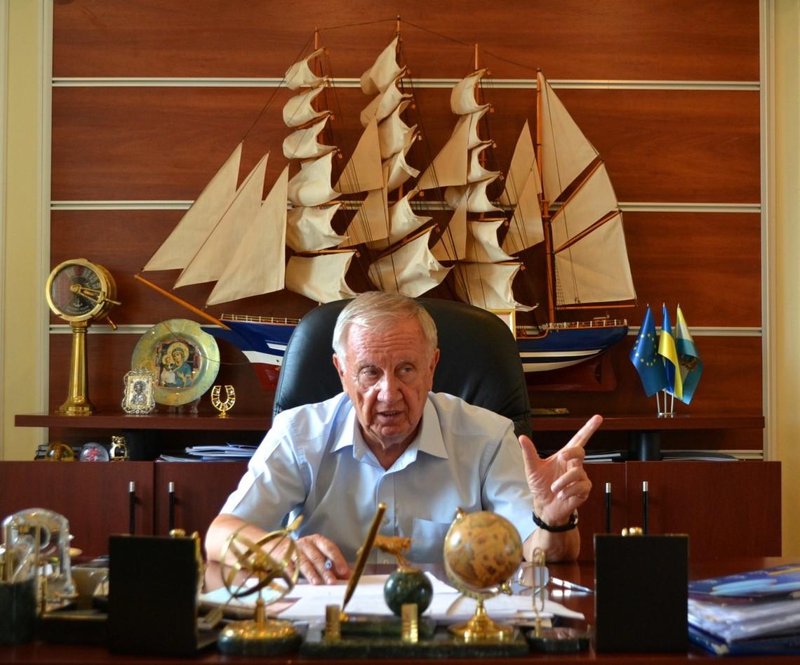 «Яуже неворую вообще»— Мэр Черноморска Хмельнюк