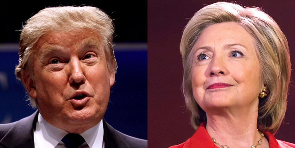 Клинтон иТрамп сегодня проведут первые теледебаты