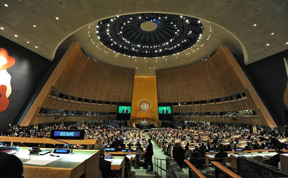 Шість неядерних країн закликали Генеральну асамблею ООН юридично заборонити ядерну зброю. Дипломати відправили проект тексту про скликання наступного року спеціальної конференції ООН.