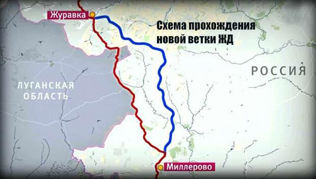 Российские власти намерены открыть железную дорогу в обход Украины в августе 2017 года - Цензор.НЕТ 7559