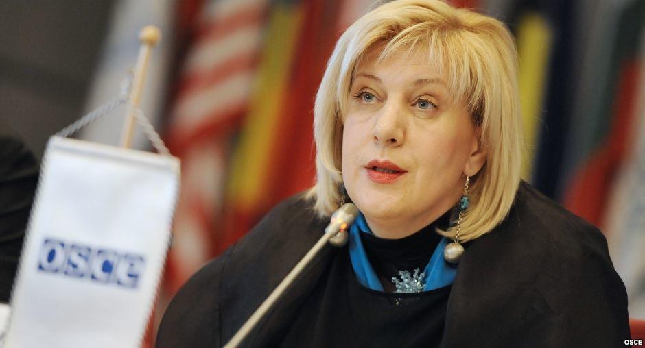Представник ОБСЄ з питань ЗМІ Дуня Міятович повідомила, що звернулася до російської влади за інформацією про затримання українського журналіста Романа Сущенка.