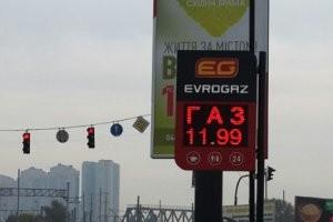 У операторів столичних моноблоків, таких як Авантаж-7, Smart, Evrogaz, I-LPG, скраплений вуглеводневий газ відступився на 6-9 копійок за літр – до 11,99 грн за літр.