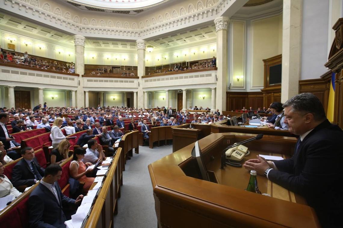 Представники сімох політичних сил пройшли б до Верховної Ради, якби парламентські вибори відбулися наприкінці вересня.