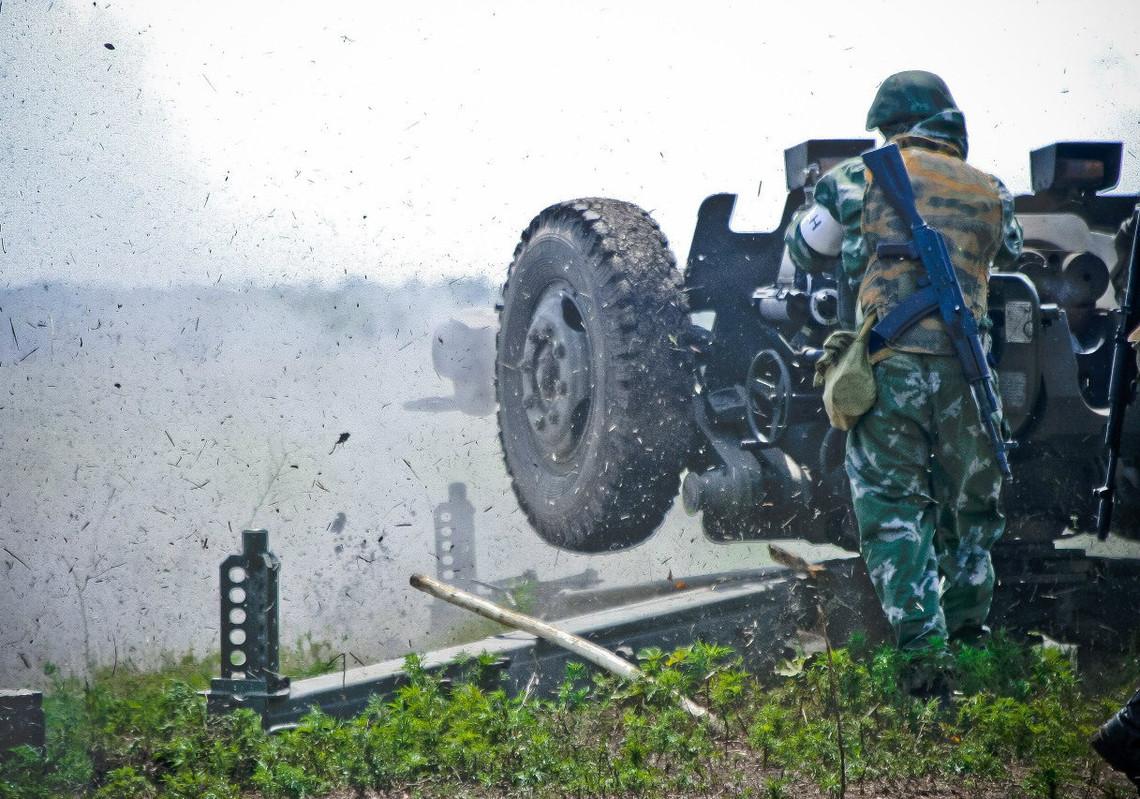 На окупованих територіях Донбасу хочуть схитрувати з відведенням військової техніки та важких озброєнь.