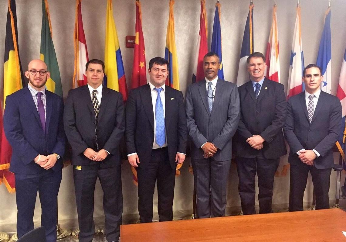 Україна та США обговорювали двостороннє співробітництво в правоохоронній сфері та боротьбі з контрабандою.