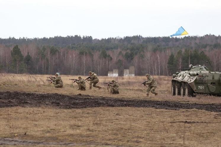 В Україні завершилося двомісячне навчання. Крім поляків у підготовці українців брали участь військові з США, Канади та Литви.