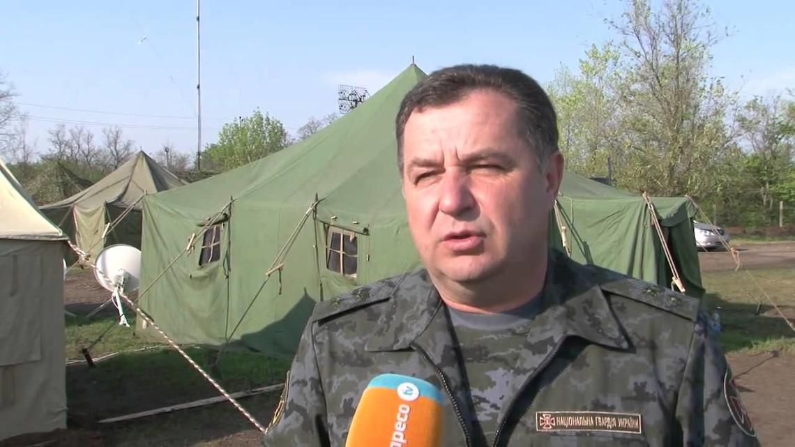 Министр обороны Украины подтвердил обострение ситуации вШирокино