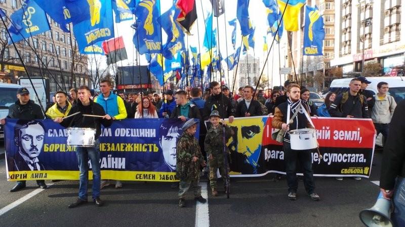У свято Покрови, 14 жовтня, до 74-ї річниці створення Української Повстанської Армії Всеукраїнське об'єднання Свобода проведе у столиці України Марш Слави Героїв.