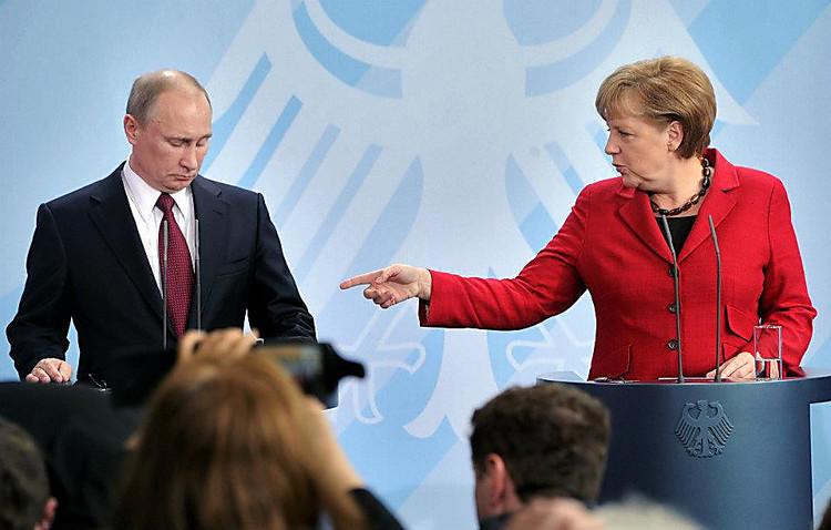 Канцлер Німеччини Ангела Меркель поставила умову Президентові РФ Володимиру Путіну за якої може відбутися їх особиста зустріч.