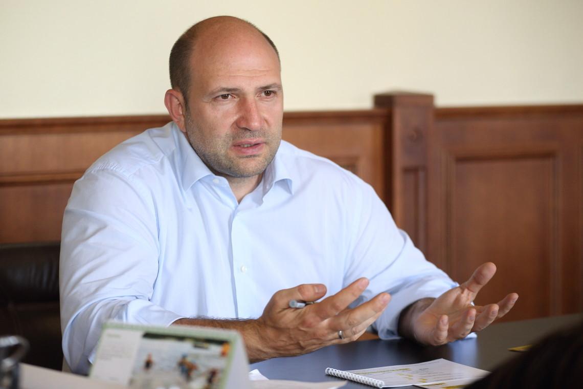 Парцхаладзе ушел сдолжности первого замглавы Киевской обладминистрации
