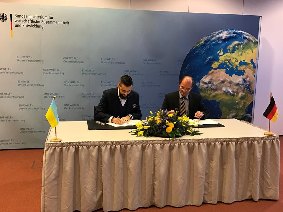 Украина выпросила уГермании еще 72млневро