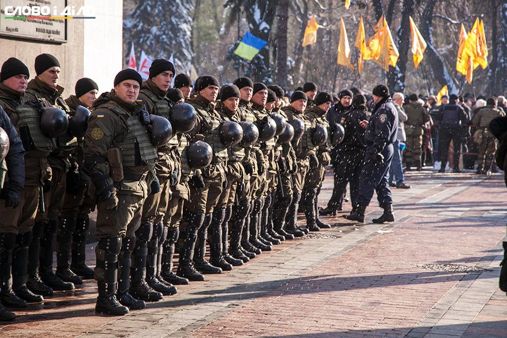 ВКиеве режим повышенной безопасности будет до22ноября,— милиция