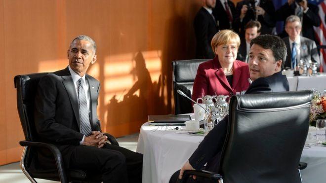 США иЕС договорились вБерлине неприятно удивить Российскую Федерацию