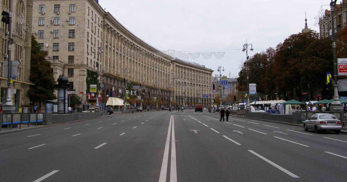 ВКиеве решили обустроить 9 наземных переходов наКрещатике